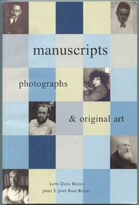 image of Manuscripts: Photographs and Original Art: Lame Duck Books and James S. Jaffe Rare Books: Fall, 2001