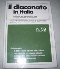 image of Il Diaconato in Italia a Cura Della Comunita del Diaconato in Italia Servizio di Animazione per le Chiese Locali  N. 59