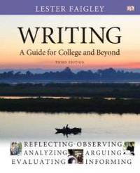 image of Writing: A Guide for College and Beyond with NEW MyCompLab with eText -- Access Card Package (3rd Edition)