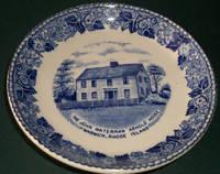 image of Collectible Plate John Waterman Arnold House, Warwick Rhode Island