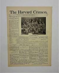 image of The Harvard Crimson - June 18, 1903 Newspaper Issue (with team baseball photo - William Clarence Matthews - early Negro baseball history)