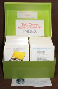 The Betty Crocker Recipe Card Library (100's of Recipe Cards in a Plastic Betty Crocker Lidded Card File Box)