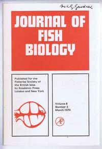 Journal of Fish Biology. Volume 6, Number 2, March 1974