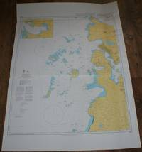 Nautical Chart No. 3001 Norway - West Coast, Risavika and Approaches
