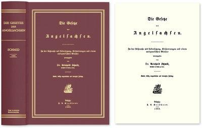 2009. ISBN-13: 9781584779483; ISBN-10: 1584779489. A Valuable Companion To Liebermann's Gesetze der ...
