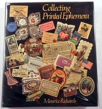 Collecting Printed Ephemera by  Maurice Rickards - First Edition - 1988 - from Resource Books, LLC and Biblio.com