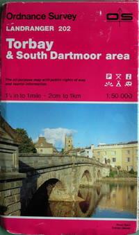 1:50,000 sheet 202 Torbay & South Dartmoor