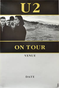 image of Promotional poster blank for U2's