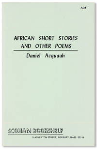 African Short Stories and Other Poems [cover title]