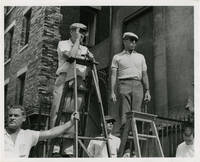 image of West Side Story (Original photograph of Robert Wise and Jerome Robbins on the set of the 1961 film)