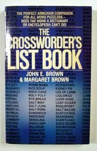 The Crossworder's List Book