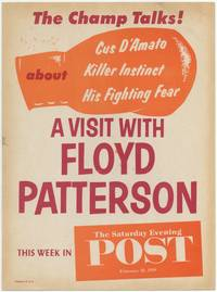 [Poster]: A Visit with Floyd Patterson. This Week in The Saturday Evening Post February 28, 1959