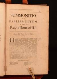 [A Perfect Copy of All Summons of the Nobility to the Great Councils and Parliaments of this...