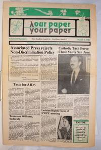 image of Our Paper, Your Paper; the gay family paper of the Santa Clara Valley; vol. 2, #5, March 9, 1983