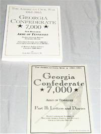 Georgia Confederate 7000  Army of Tennessee : Part I and II