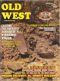 image of Vintage Spring 1971 Issue of Old West Magazine Pancho Villa, Railroad Towns