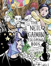 Neil Gaiman Coloring Book, The