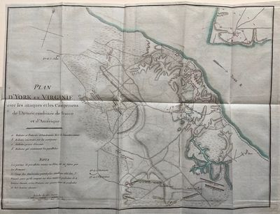 Paris: Chez Buissant, 1787. Map. Engraving with outline hand coloring 11 1/4 x 15 inches. Finely pri...