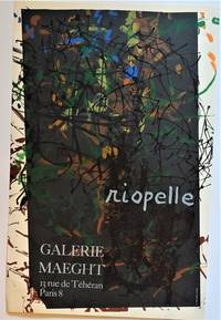 Riopelle  Galerie Maeght (Lithograph Exhibition Poster)