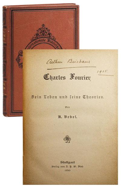 Stuttgart: Verlag von J.H.W. Dietz, 1890. First Edition. Small octavo (19cm.); original decorative t...