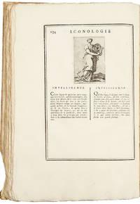 Iconologie Tirée de divers Auteurs. Ouvrage Utile aux Gens de Lettres, aux Poëtes, aux Artistes, & généralement à tous les Amateurs des Beaux-Arts