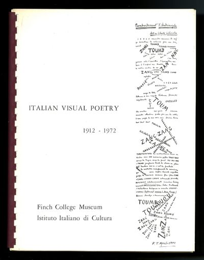 Italian visual poetry, 1912-1972