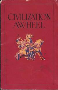 image of Civilization Awheel illustrated Advertising from Standard Oil Co. 1924