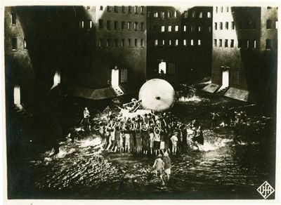 Munich: Universum Film , 1927. Vintage black-and-white still photograph from the original German rel...