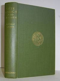 Late Lyrics and Earlier With Many Other Verses (1922)