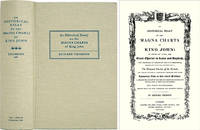 An Historical Essay on the Magna Charta of King John: to Which are..