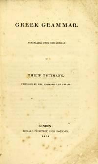 Greek grammar, translated from the German [by Edward Everett]