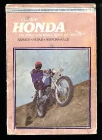 image of Honda Service-Repair Handbook: 100-350 cc 4-Stroke Singles, 1970-1977