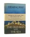 image of The Old Man and the Sea - First Issue Book and Dust Wrapper and with the rare wrap-around band