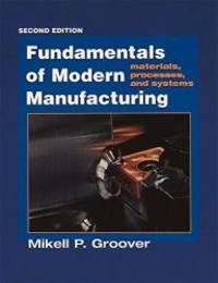 image of Fundamentals of Modern Manufacturing: Materials, Processes, and Systems, 2nd Edition