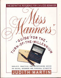 image of Miss Manners' Guide for the Turn-of-the-Millennium