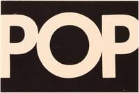 POP Exhibition Invitation Card