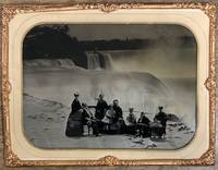 Niagara Falls Whole Plate Ambrotype