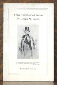 image of THREE UNPUBLISHED POEMS BY LOUISA M. ALCOTT [FRUITLANDS COLLECTION]