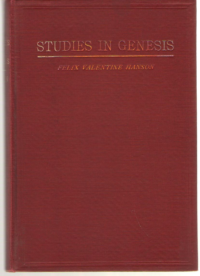 Used Genesis Modesto >> Studies in Genesis by B.D A.M. - Hardcover - 1911 - from Dan Glaeser Books and Biblio.com