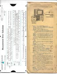 Hewlett Packard Measurement Error Calculator (Perrygraf 1968)