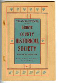 Transactions of the Brome County Historical Society From 1901 to August 1910. Including the Minutes of the Society at Its Annual Meeting. Vol. II