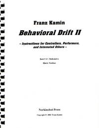 """image of Behavioral Drift II: """"Instructions for Controllers, Performers, and Interested Others"""" [MUSIC SCORE]"""