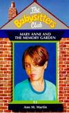 image of Mary Anne and the Memory Garden (Babysitters Club)