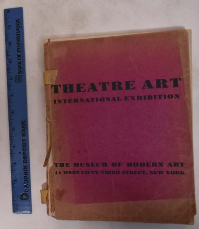 New York: Musuem of Modern Art, 1934. Hardcover. Good- moderate to severe discoloration and soiling ...