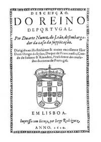 Descrição do Reino de Portugal