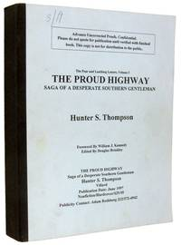 The Proud Highway [First Issue Proof]