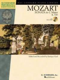 "Mozart - Sonata in C Major, K. 545, ""Sonata Facile"" (Hal Leonard Piano Library) with..."