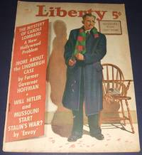 image of Vintage Issue of Liberty Magazine for Feb. 5th 1938 Cover Art by Charles  H. Towne