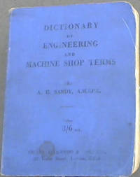 image of Dictionary of Engineering and Machine Shop Terms