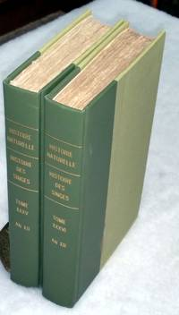 "Histoire Naturell Des Singes (Being Volumes Trente-Cinquieme and Trente-Sixieme of the 127 Volume ""Histoire Naturelle Generale et Particuliere, Par Leclerc De Buffon"") (Two Volumes ONLY)"